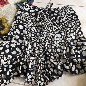 Loving the print Lined skirt Kasper 18 !